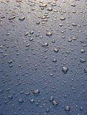 Gotas no carro — Foto Stock