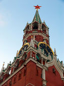 Kremlin de torre spasskaya — Foto Stock