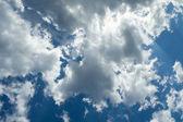 Nuvens do céu — Foto Stock