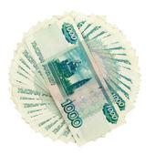 O dinheiro russo — Foto Stock