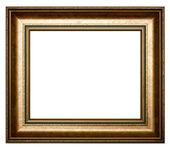 Molduras douradas para pintura e foto — Foto Stock
