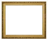 Gold frames for painting and foto — Stockfoto