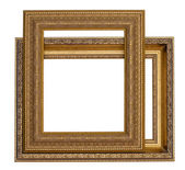 Gold frames for painting and foto — Foto Stock