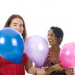 Two girls on the party — Stock Photo #1099338