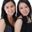 Two chinese friends — Stock Photo