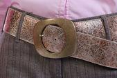 Leather belt — Stock Photo