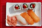 Combinação de sushi pequeno — Foto Stock