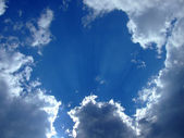 Sky background. sky and clouds backgroun — Stock Photo