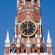 Clock on the Kremlin tower in Moscow — 图库照片