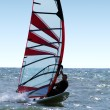 Windsurfer on waves of a sea 3 — Stock Photo #1106506