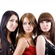 Portrait of three beautiful young women. — Stock Photo #1107963