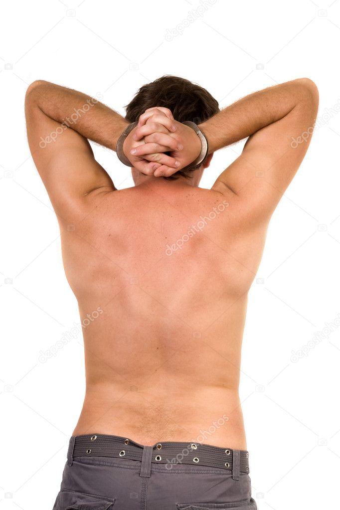 фото парня скованного наруч