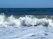 Waves at coast of the Black sea 2 — Stock Photo