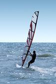 Surfař na vlnách moře 2 — Stock fotografie