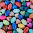 Stock Photo: Beads in form of heart, drops.