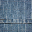 Texture a dark blue jeans — Stock Photo #1176666