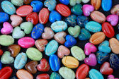 Beads in the form of heart, drops. — Stock Photo