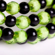 Round facet beads. — Stock Photo
