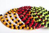 Round facet beads. — Stock Photo