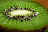 Background is a fruit of kiwi. — Stock Photo