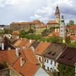 Royalty-Free Stock Photo: Czech Krumlov view