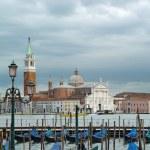 Gondolas, San Marco Venice — Stock Photo