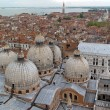Top view of Venice roof. — Stock Photo