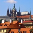 Prague roofs — Stockfoto