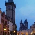 Twilight in Prag — Stock Photo
