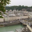 Panoramic View of Salzburg, Austria — Stock Photo