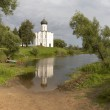 Most beauty church of Russia — Stock Photo