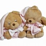 Soft teddy bear couple — Stock Photo #1136810