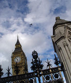 Big ben sky and Neighbors — Stock Photo