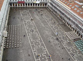 San Marko square, Venice in Italy — Stock Photo