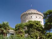 White tower thessaloniki city — Stock Photo