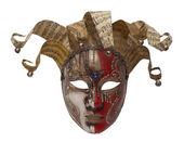 Columbine mask — Stock Photo