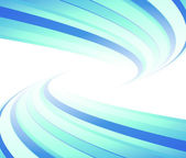Blue flyer lined. Vector illustration — Stock Vector