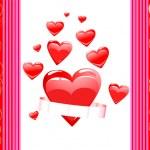 Ilustración realista corazón — Vector de stock