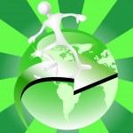 Go green concept — Stock Vector