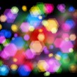 Royalty-Free Stock Vector Image: Unfocused night light - highway sparkles