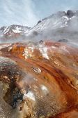 Geysers, volcano — Stock Photo