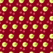 Royalty-Free Stock Photo: Cherry pattern