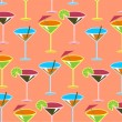 Royalty-Free Stock Photo: Cocktail pattern