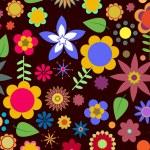 Funky flowers — Stock Photo
