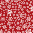 Background with snowflakes — Stock Photo