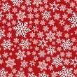 Background with snowflakes - Photo