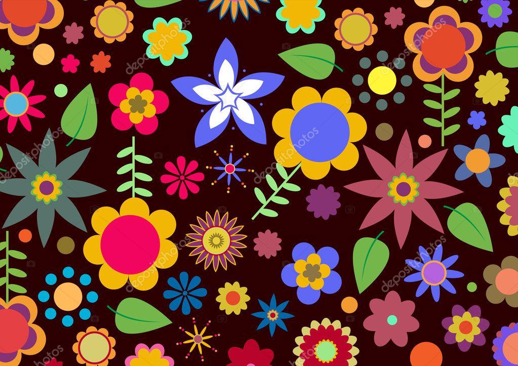 Handspun Flower - Free Knitting Pattern for a Flower Worked in
