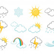 Weather Icons — Stock Photo #1101547