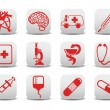 Stock Photo: Medicine icons