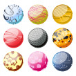 Royalty-Free Stock Photo: Decoration balls set